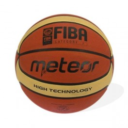 Piłka koszowa treningowa kremowa Meteor FIBA 7