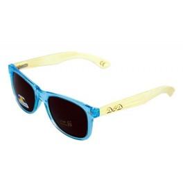 D&D okulary drewniane WAYFARER L. Blue