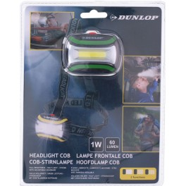 Latarka czołowa Dunlop LED COB 3
